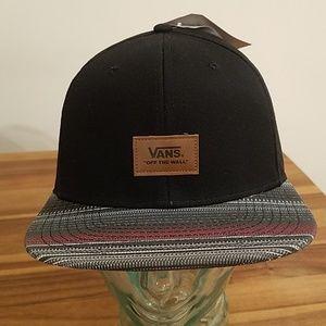 Vans black hat borderline sb